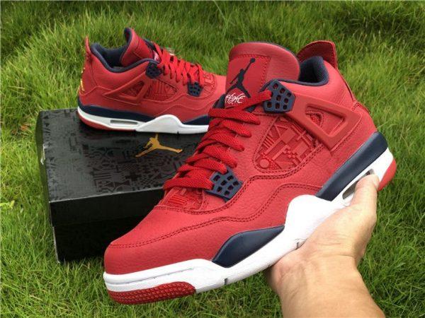 Air Jordan 4 SE FIBA Gym Red shoes