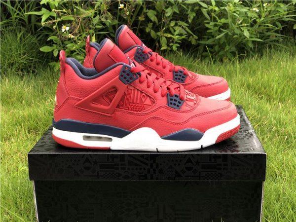 Air Jordan 4 SE FIBA Gym Red2019