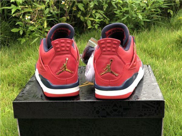 Air Jordan 4 SE FIBA Gym heel