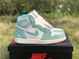 2019 New Air Jordan 1 High OG Turbo Green
