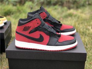 Air Jordan 1 Banned Black Red