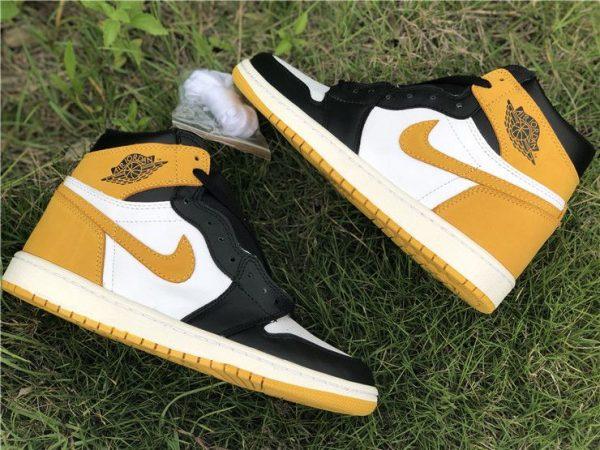 Air Jordan 1 Five MVP Awards Yellow Ochre sneaker