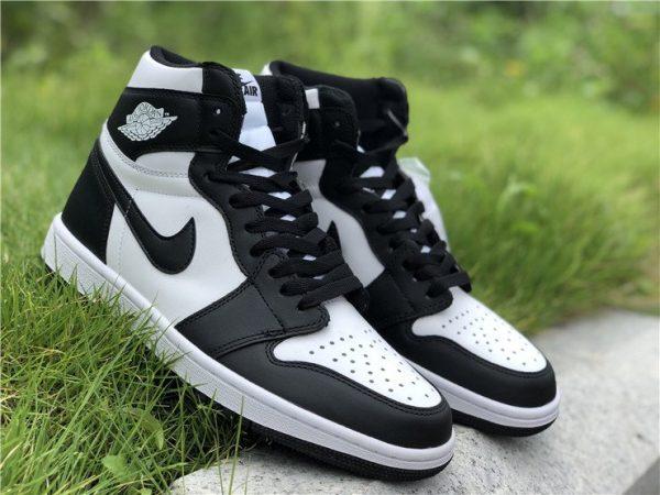 Air Jordan 1 Retro High OG Black White shoes