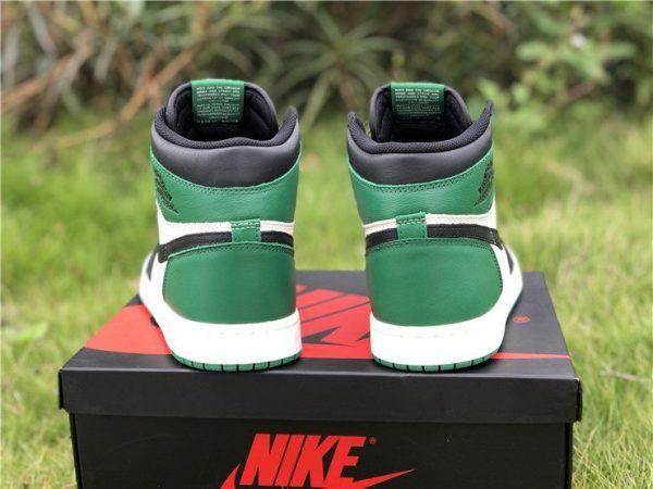 Air Jordan 1 Retro High OG Pine Green heel