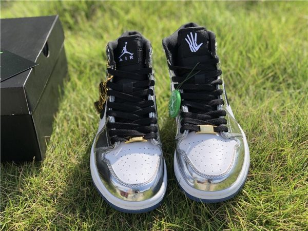 Air Jordan 1 Retro High Pass The Torch Chrome front