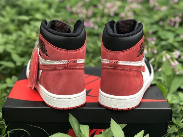 Air Jordan 1 Six Championships(Track Red) HEEL