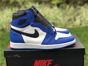 Air Jordan 1 White Royal Blue