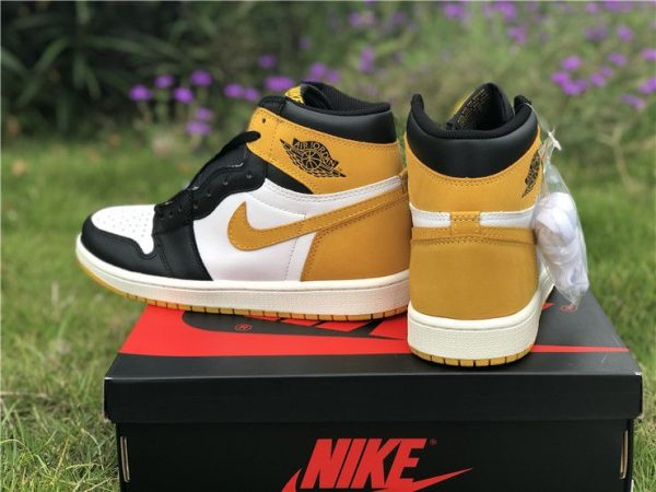 Air Jordan 1 Yellow Ochre 555088-109 sale