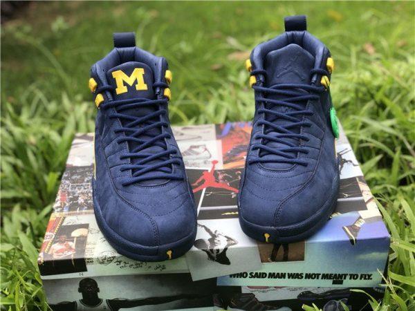 Air Jordan 12 Michigan BQ3180-407 sneaker
