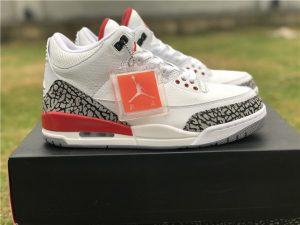 Air Jordan 3 Katrina 2018 White Cement