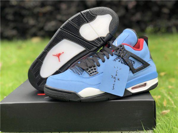 Air Jordan 4 Houston Oilers 308497-406 sneaker