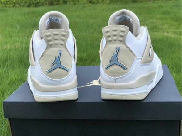 Air Jordan 4 Linen heel