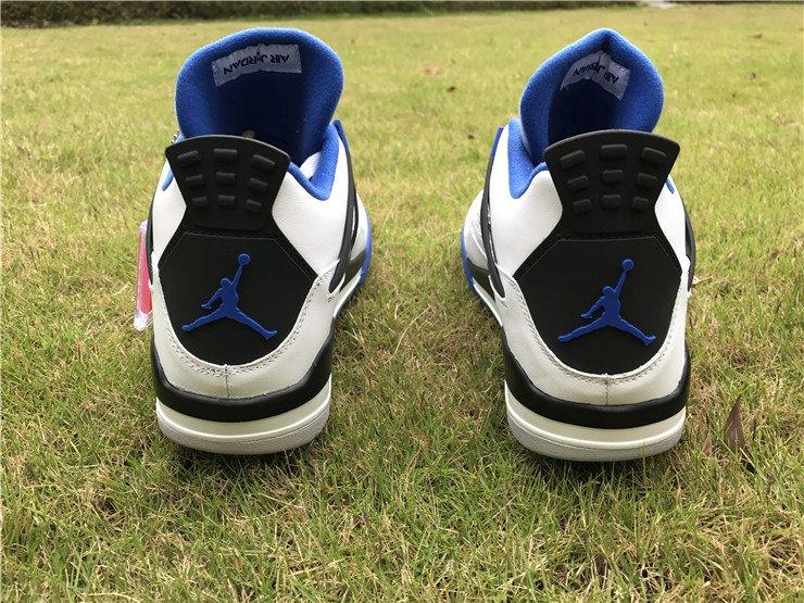 Air Jordan 4 Motorsport heel
