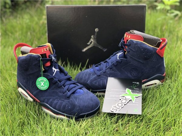 Air Jordan 6 DB Doernbecher Midnight Navy shoes