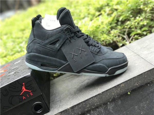 Black Kaws x Air Jordan 4 IV