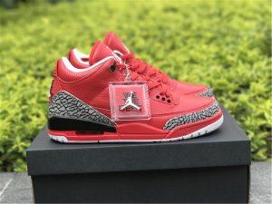 DJ Khaled x Air Jordan 3 Grateful - Red