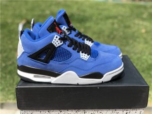 Eminem X Air jordan 4 Encore Deep Royal Blue Sale