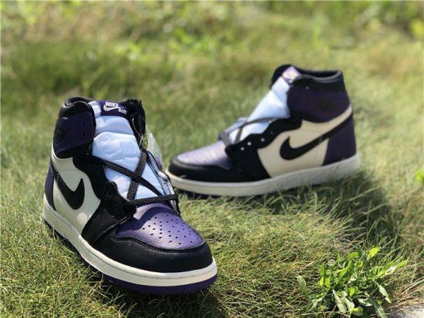 Jordan 1 Retro High Court Purple shoes