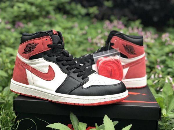 Jordan 1 Retro High Track Red - 555088-112 red swoosh