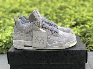 KAWS x Air Jordan 4 Cool Grey