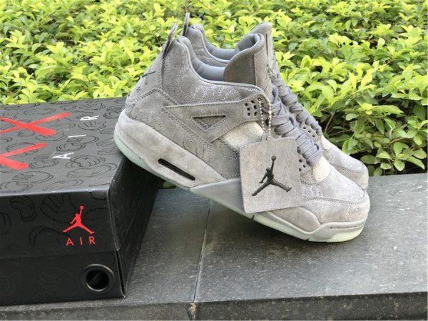 KAWS x Air Jordan 4 Cool Grey trainer