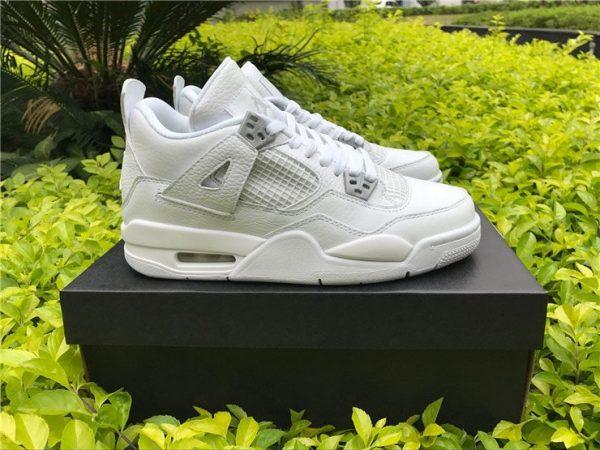 Mens Womens Air Jordan 4 Pure Money