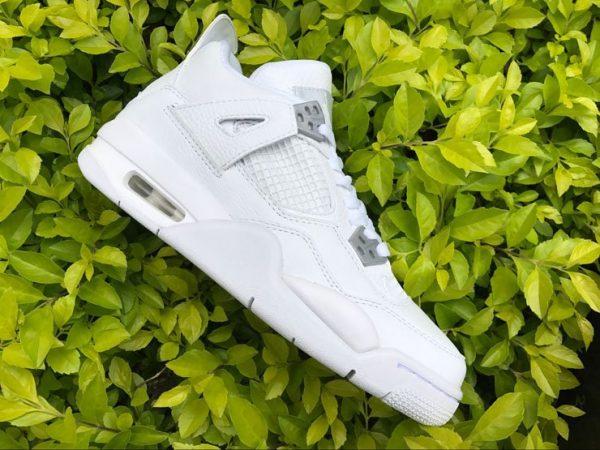 Mens Womens Air Jordan 4 Pure Money sale