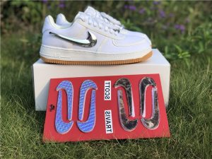 Nike Air Force 1 Low Travis Scott White Removable Swoosh