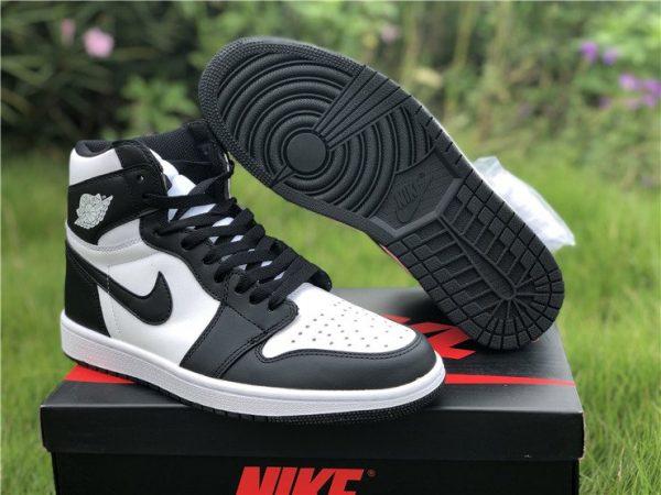 Nike Air Jordan 1 Retro High Black White for sale