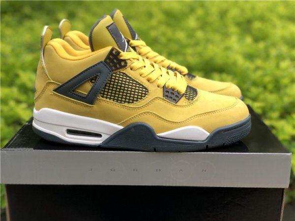 Nike Air Jordan 4 Lightning Tour Yellow 2018