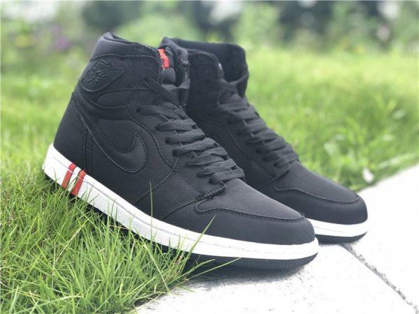 PSG x Air Jordan 1 Paris Saint-Germain Black shoes