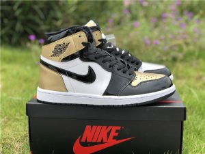 Top 3 Air Jordan 1 High NRG Black Gold