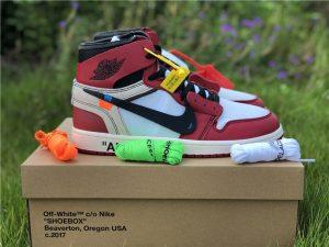 Virgil Abloh Nike Air Jordan 1 Off-White Chicago