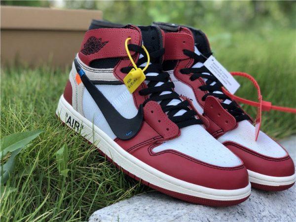 Virgil Abloh Nike Air Jordan 1 Off-White Chicago shoes