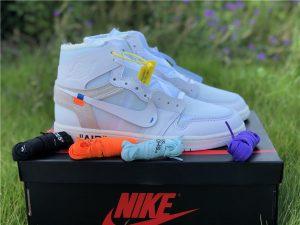 Virgil Ablohs Off-White Air Jordan 1 off white