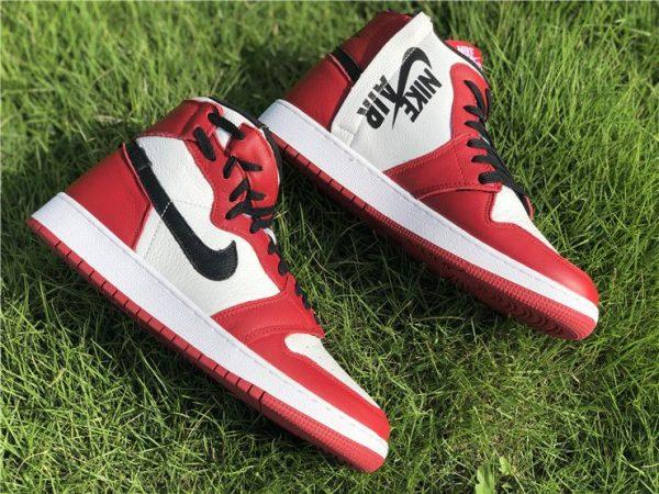 Wmns Air Jordan 1 Rebel XX Chicago swoosh
