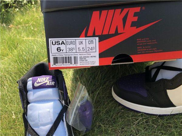 where to buy Air Jordan 1 Retro High OG Court Purple