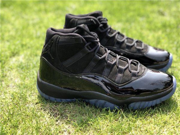 2018 Air Jordan 11 Cap and Gown Triple Black shoes