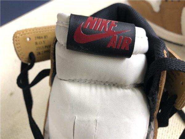 Air Jordan 1 Retro High OG ROY 555088-700 brand logo