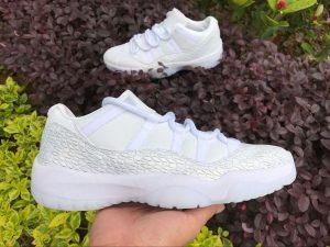 Air Jordan 11 XI Low Frost White Pure Platinum