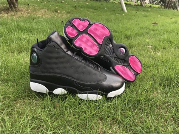 Air Jordan 13 GS Hyper Pink Black 3M shoes