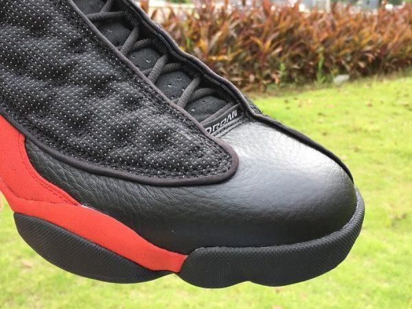 Air Jordan 13 Retro bred 2017 Release toe