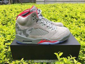 Air Jordan 5 Retro Reflective Camo Dark Stucco