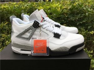 Air Jordan IV 4 Retro OG White Cement Grey