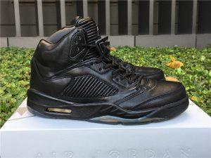 Jordan 5 Retro Premium Pinnacle Triple Black