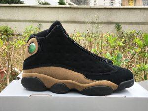 Mens Air Jordan XIII Black Olive 2018