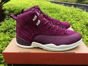 Mens Size Air Jordan 12 Bordeaux