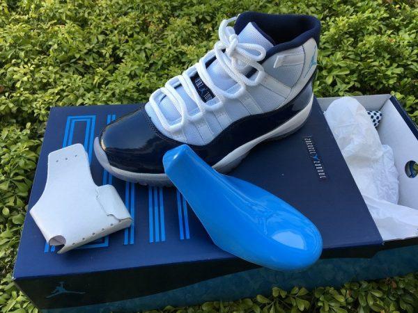 Nike Air Jordan 11 XI Win Like 82 Midnight Navy detail