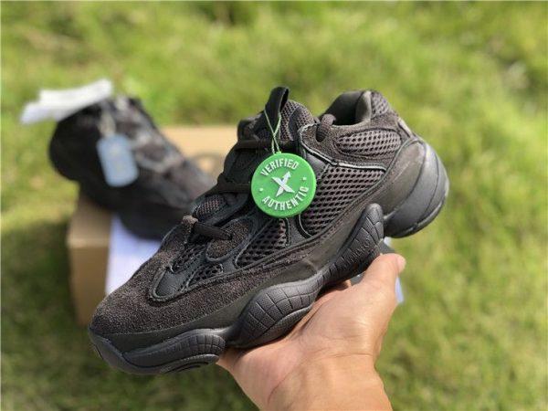 2018 Adidas Yeezy 500 Utility Black on hand