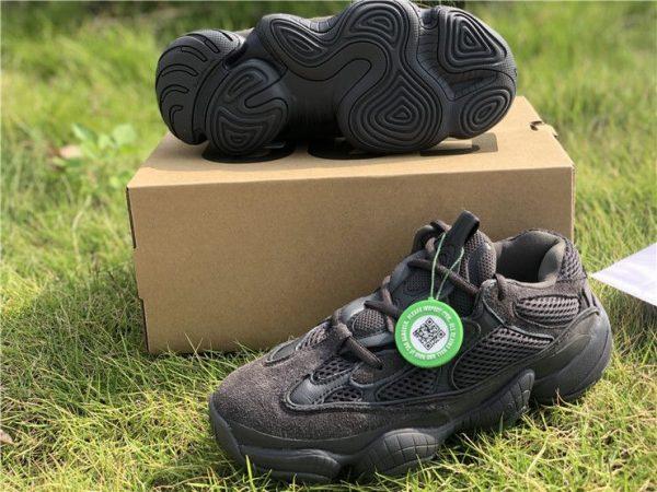 2018 Adidas Yeezy 500 Utility Black shoes